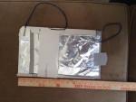Homemade sliding capacitor with cardboard as insulator