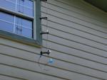 Homemade ladder-line transmission line