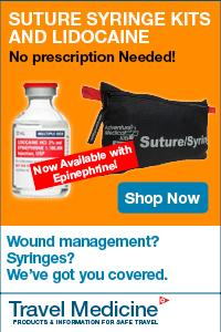 Suture Syringe kits with Lidocaine