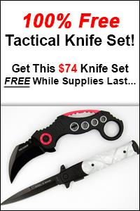 Free Tactical Knife Set!