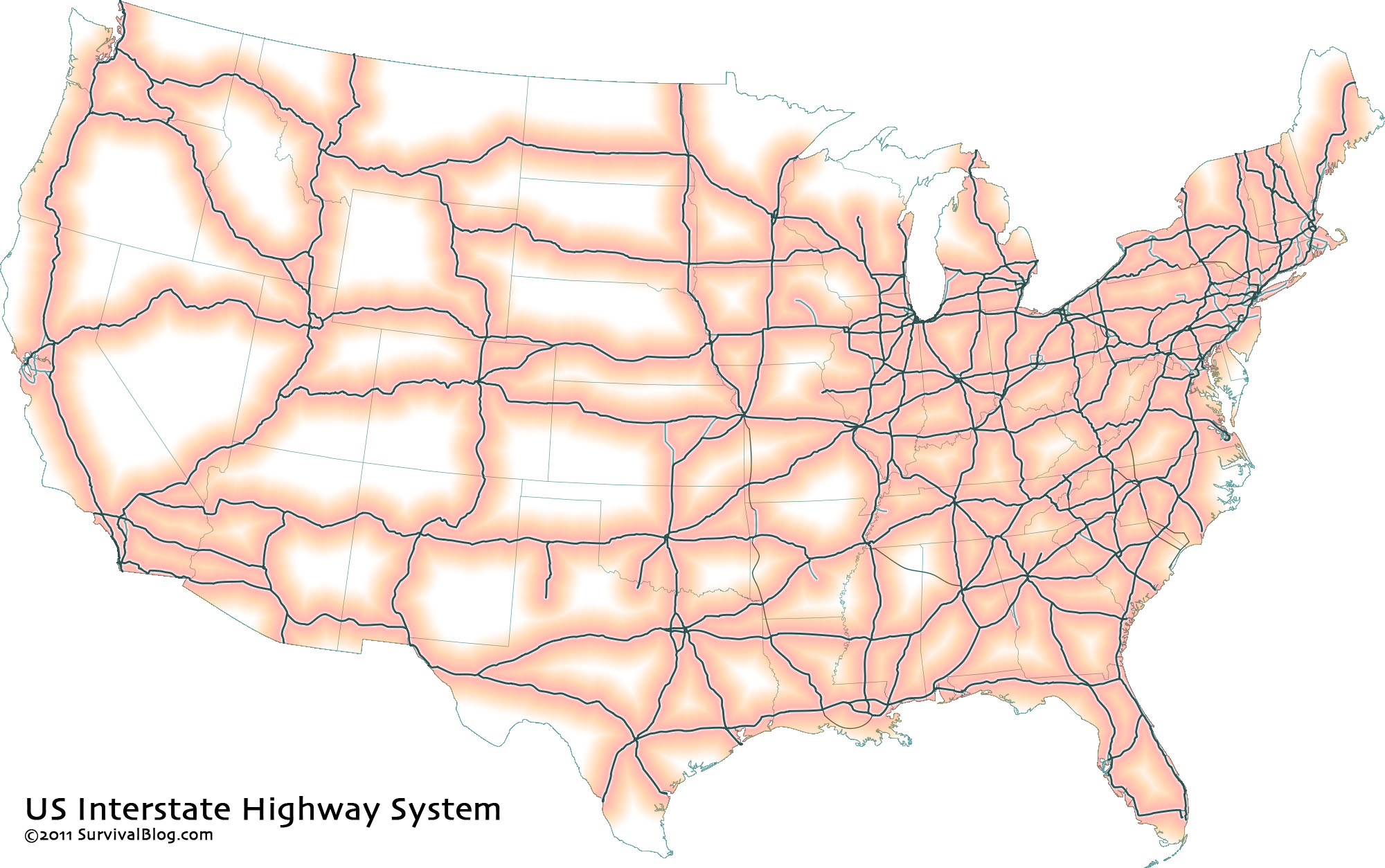 distancefromcitylarge interstatehighwayslarge