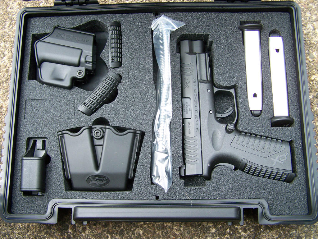 Pat Cascio's Product Review: Springfield Armory XDm 9mm ...