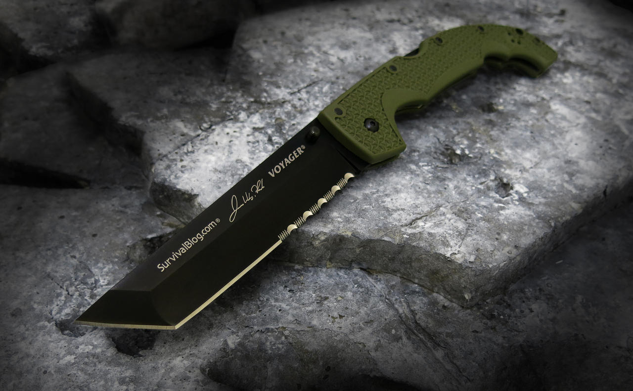 Letter Re: Cold Steel Voyager-JWR Edition