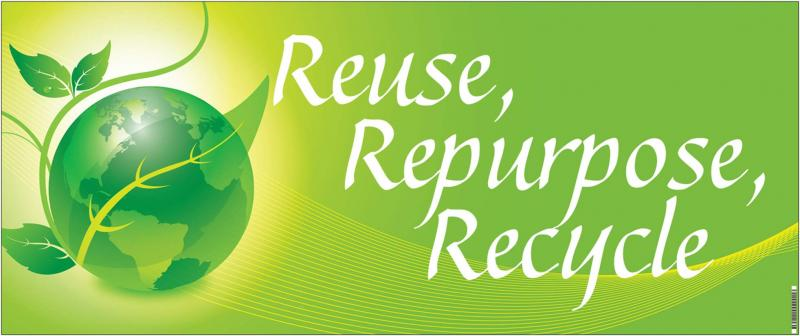 """Recycle, Repurpose, and Reuse"", by Regan and Hawk"