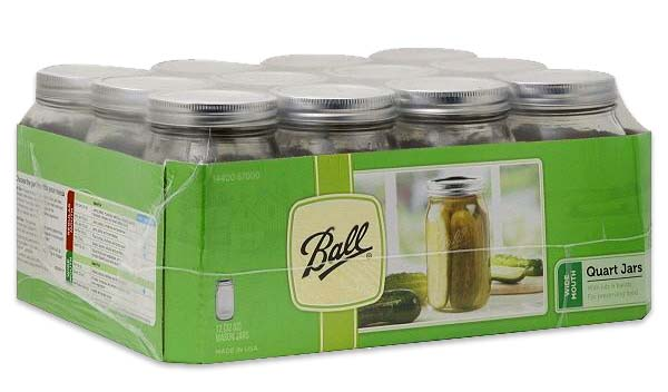 Three Letters Re: Canning Jars