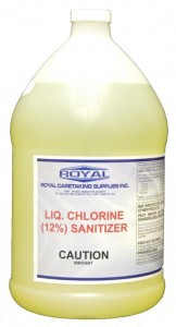 Letter Re: Sodium Hypochlorite Liquid