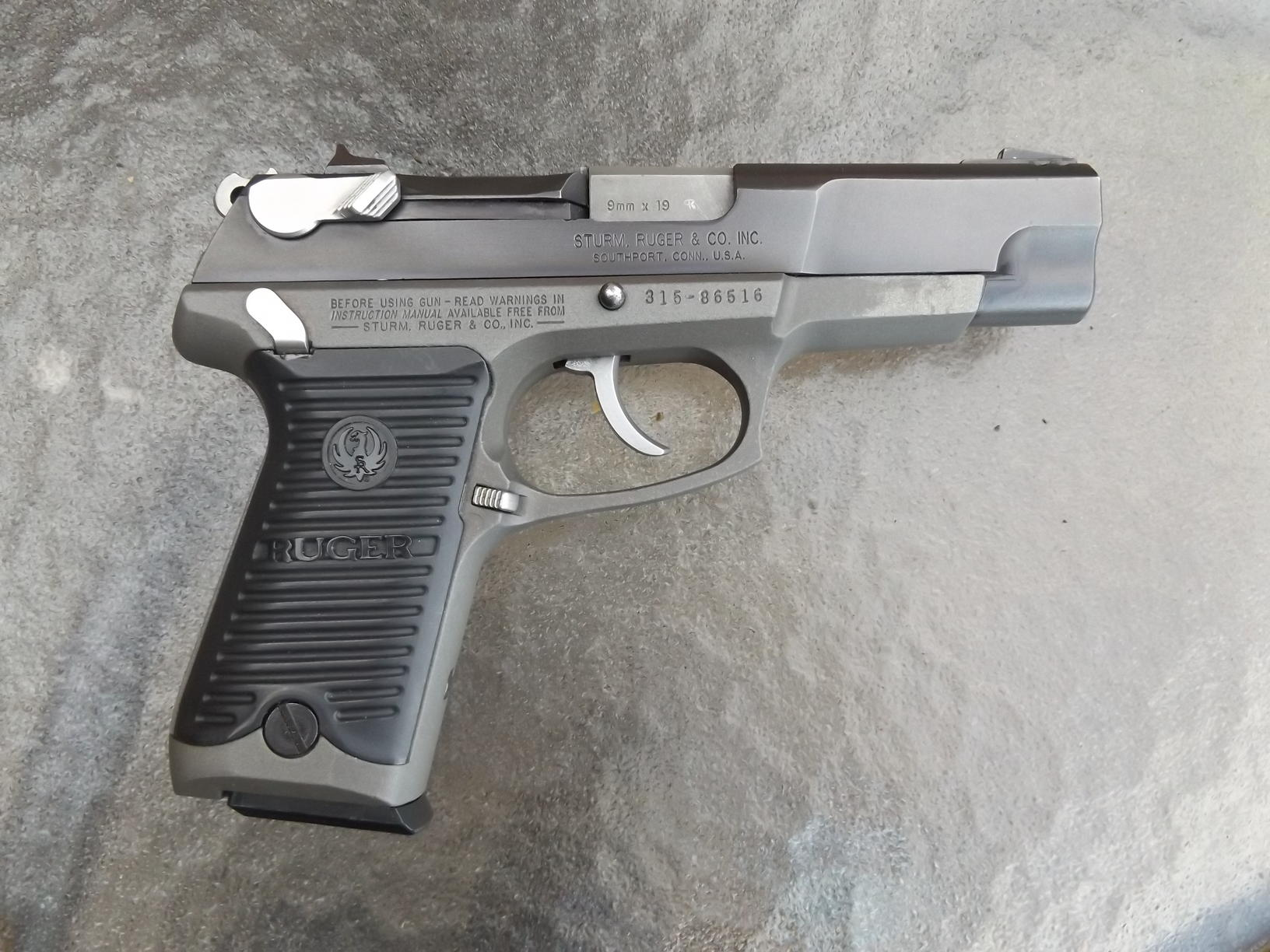 Product Review Ruger P 89 9mm