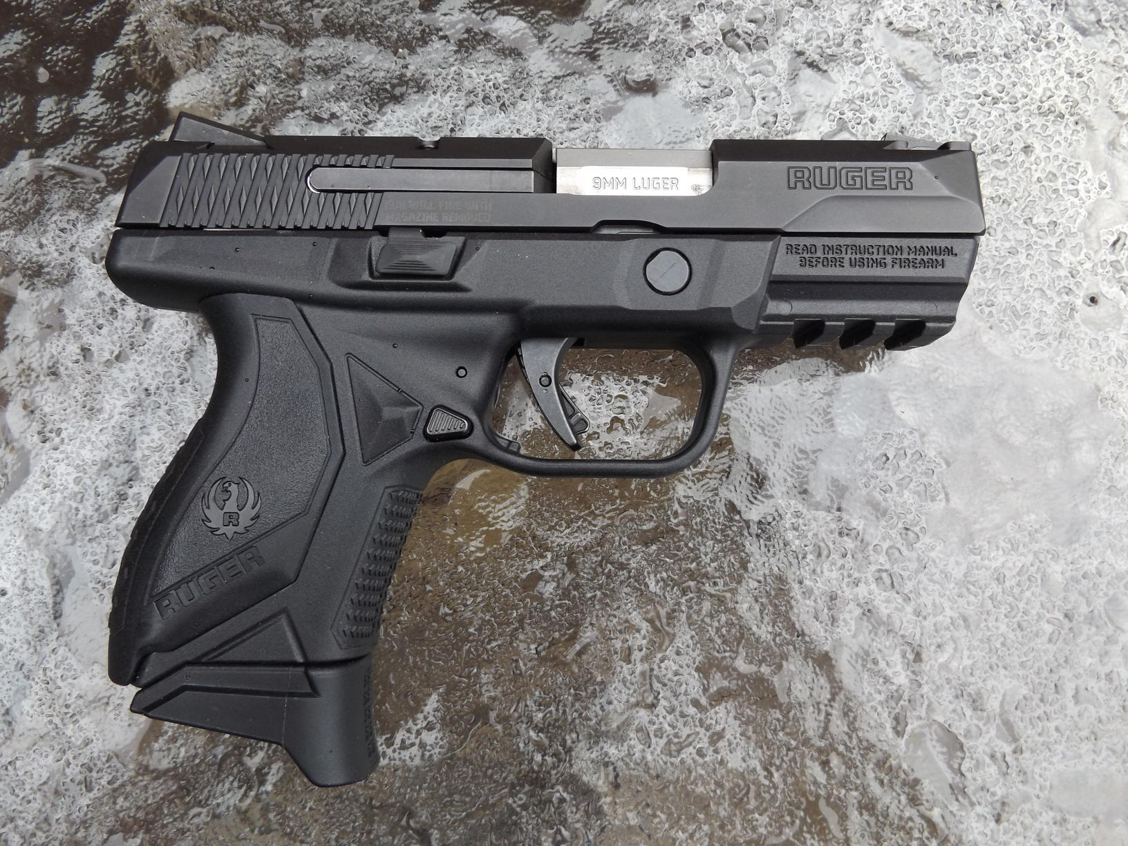 I Received The New Ruger American Pistol In 9mm Which Is Compact Model Ll Tell You What This Hands Down My Favorite Handgun