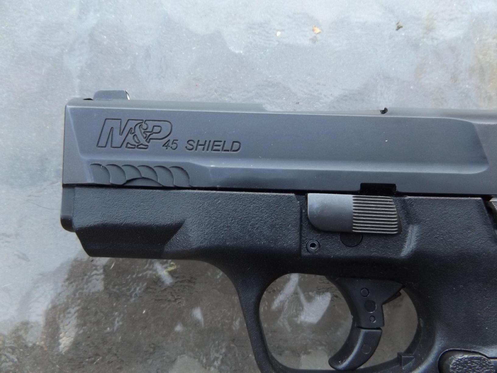 S&W M&P Shield  45 ACP, by Pat Cascio - SurvivalBlog com