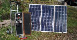EMP Solar panel