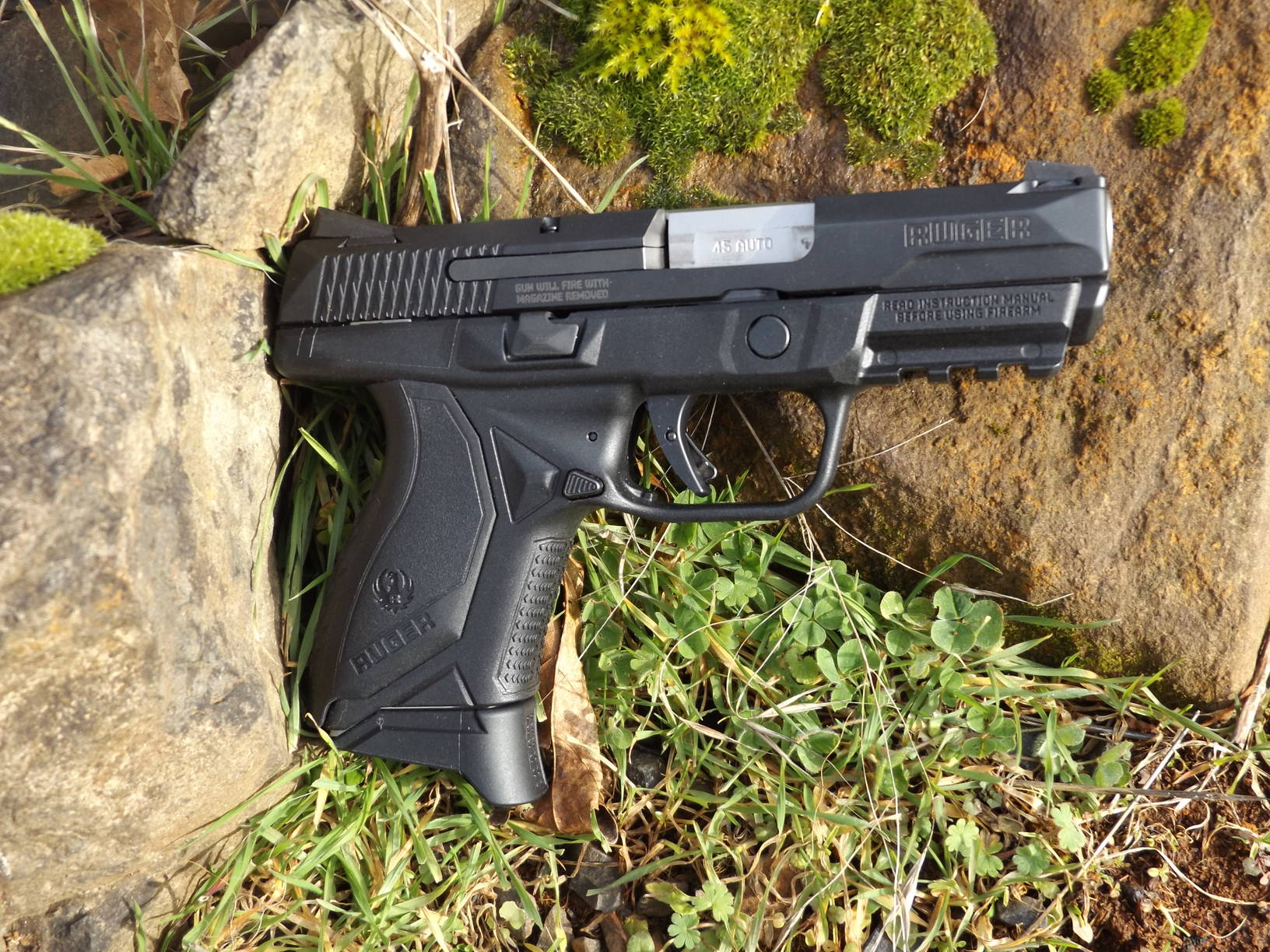 Ruger American Compact .45 ACP, by Pat Cascio