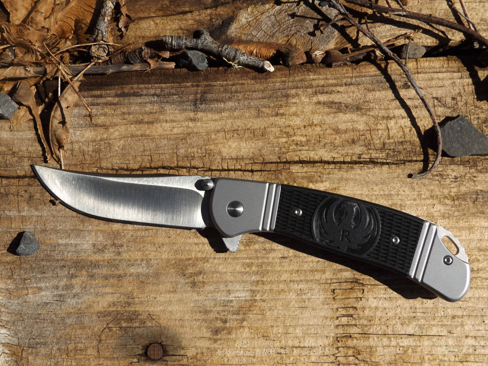 CRKT/Ruger Hollow-Point Folder, by Pat Cascio