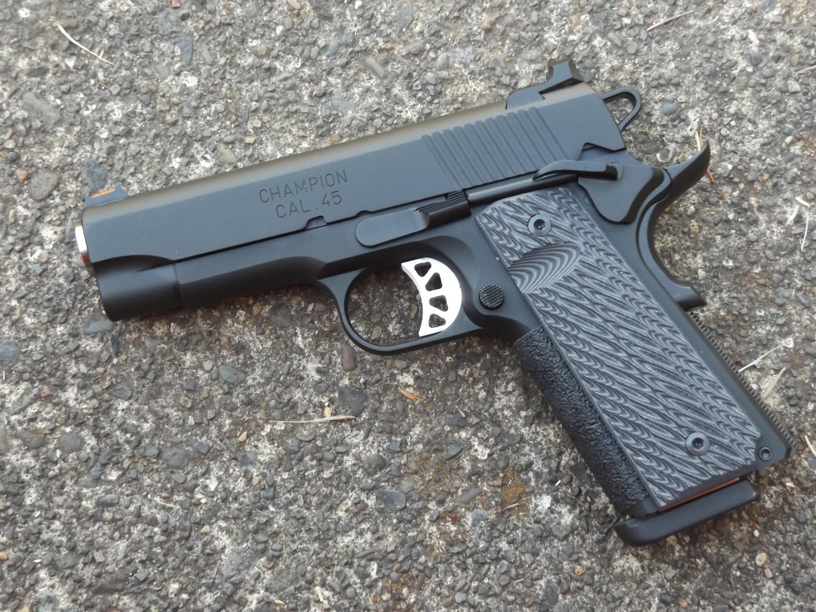 Springfield Armory's Range Officer Elite Champion, by Pat Cascio