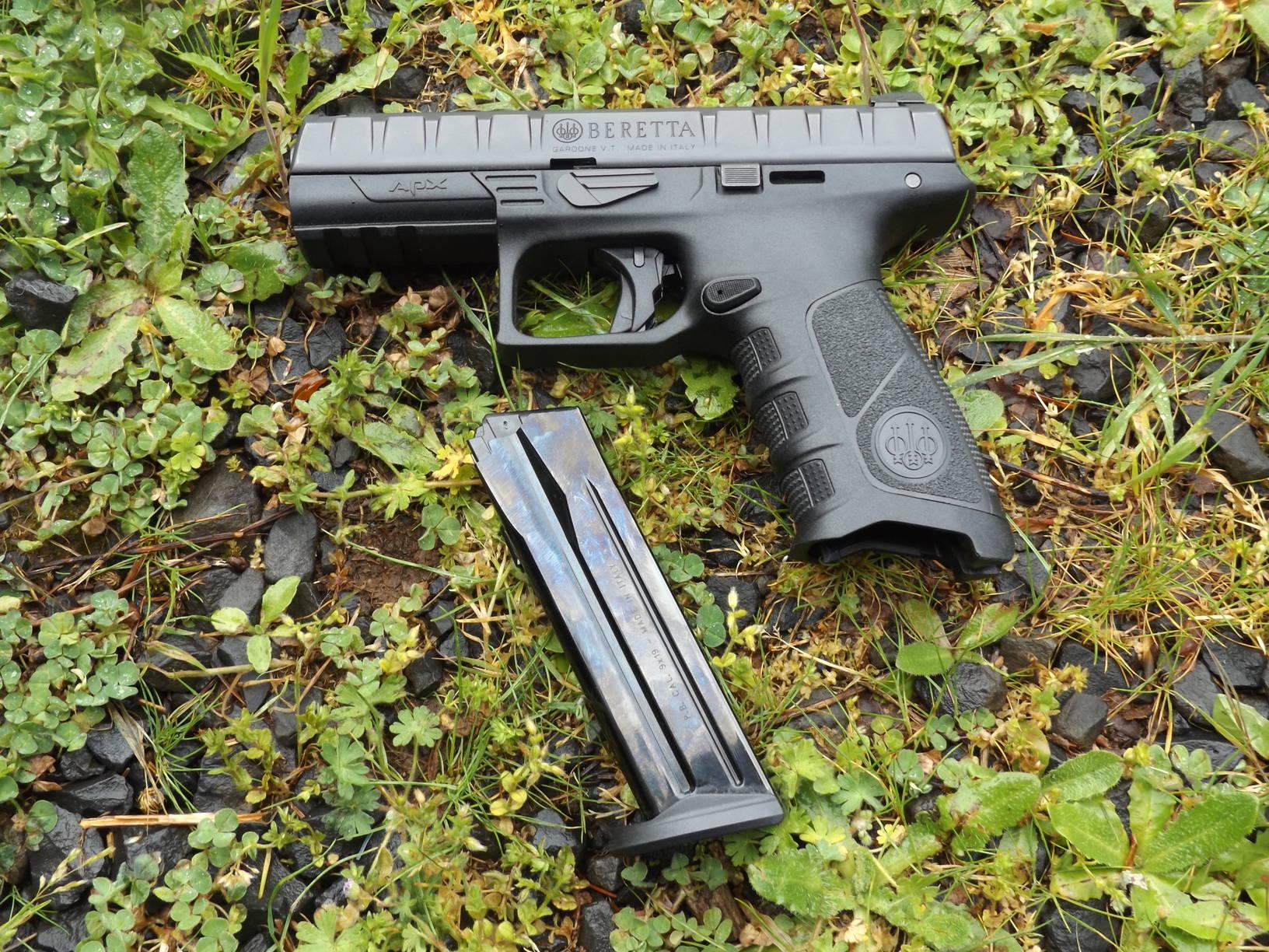 Beretta APX 9mm Handgun, by Pat Cascio