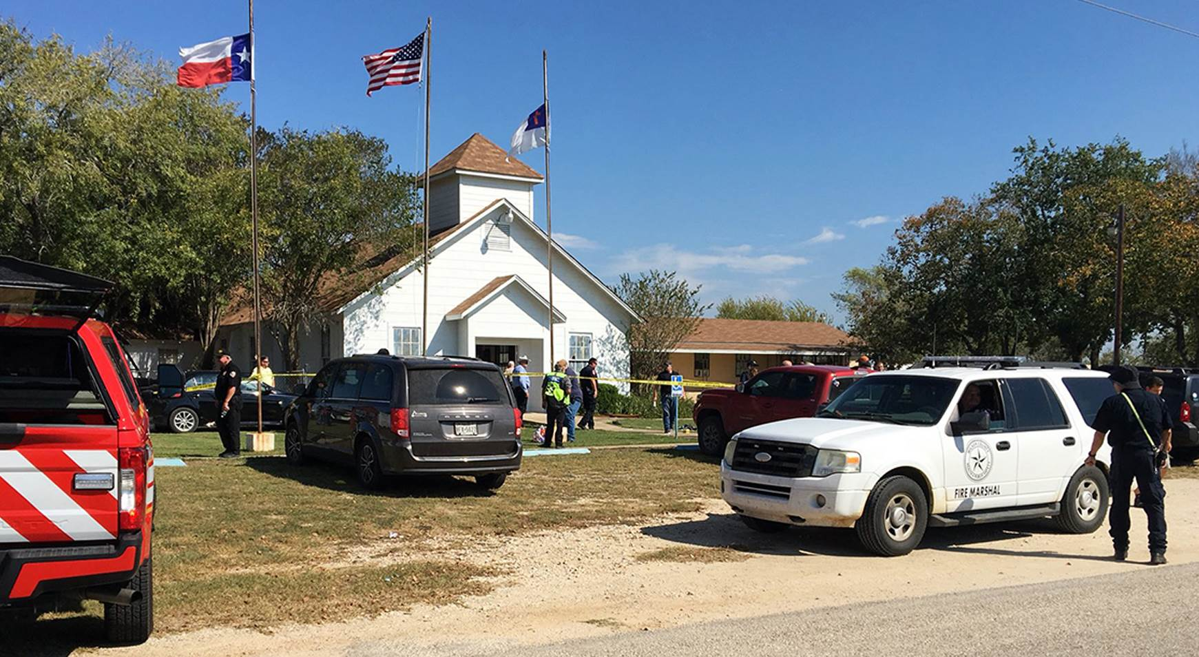 The Texas Church Shooting Aftermath, by Sophie in Texas