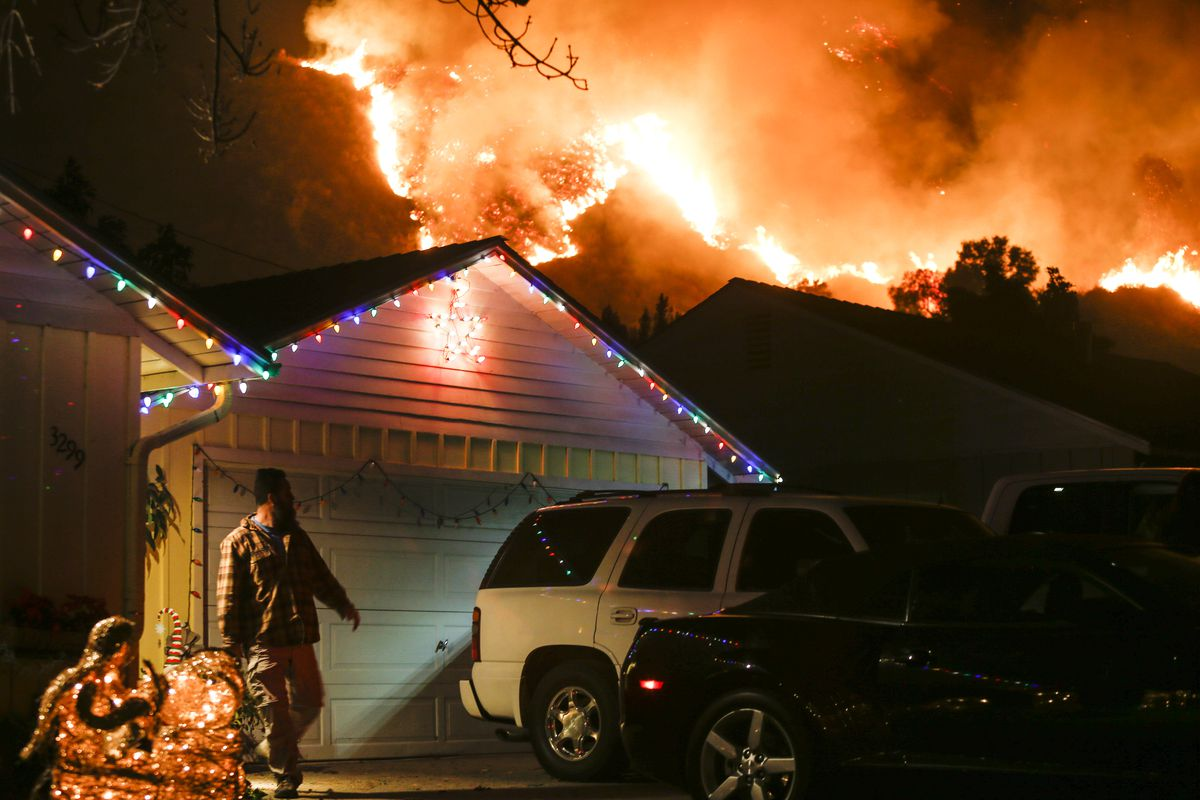E-Mail 'Letter: California's December Wildfires' To A Friend
