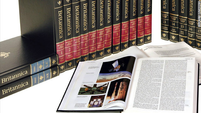 Letter: Which Printed Encyclopedia Set to Acquire?