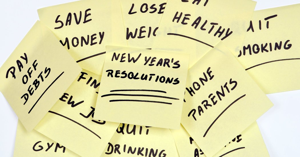 Letter Re: New Year's Resolutions