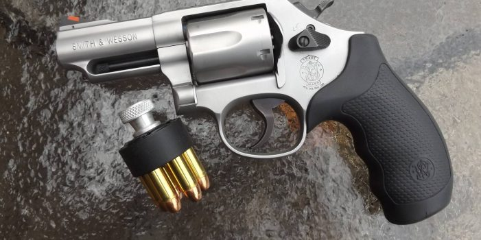 Smith & Wesson Model 66, by Pat Cascio