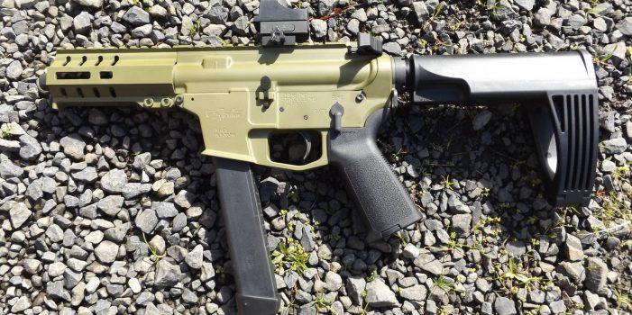 CMMG Banshee 9mm AR Pistol, by Pat Cascio