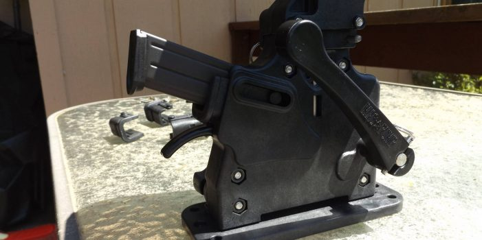 Mag Pump 9mm Magazine Loader, by Pat Cascio