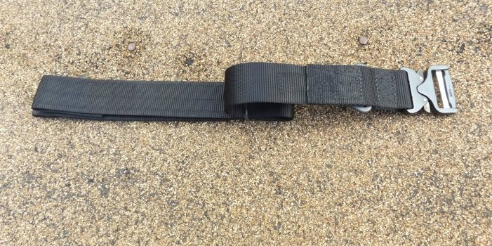 Blackhawk Products Rigger's Belt with Cobra Buckle, by Pat Cascio