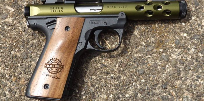Ruger/Black Hills Ammunition, Mark IV 22/45 Lite Edition, by Pat Cascio
