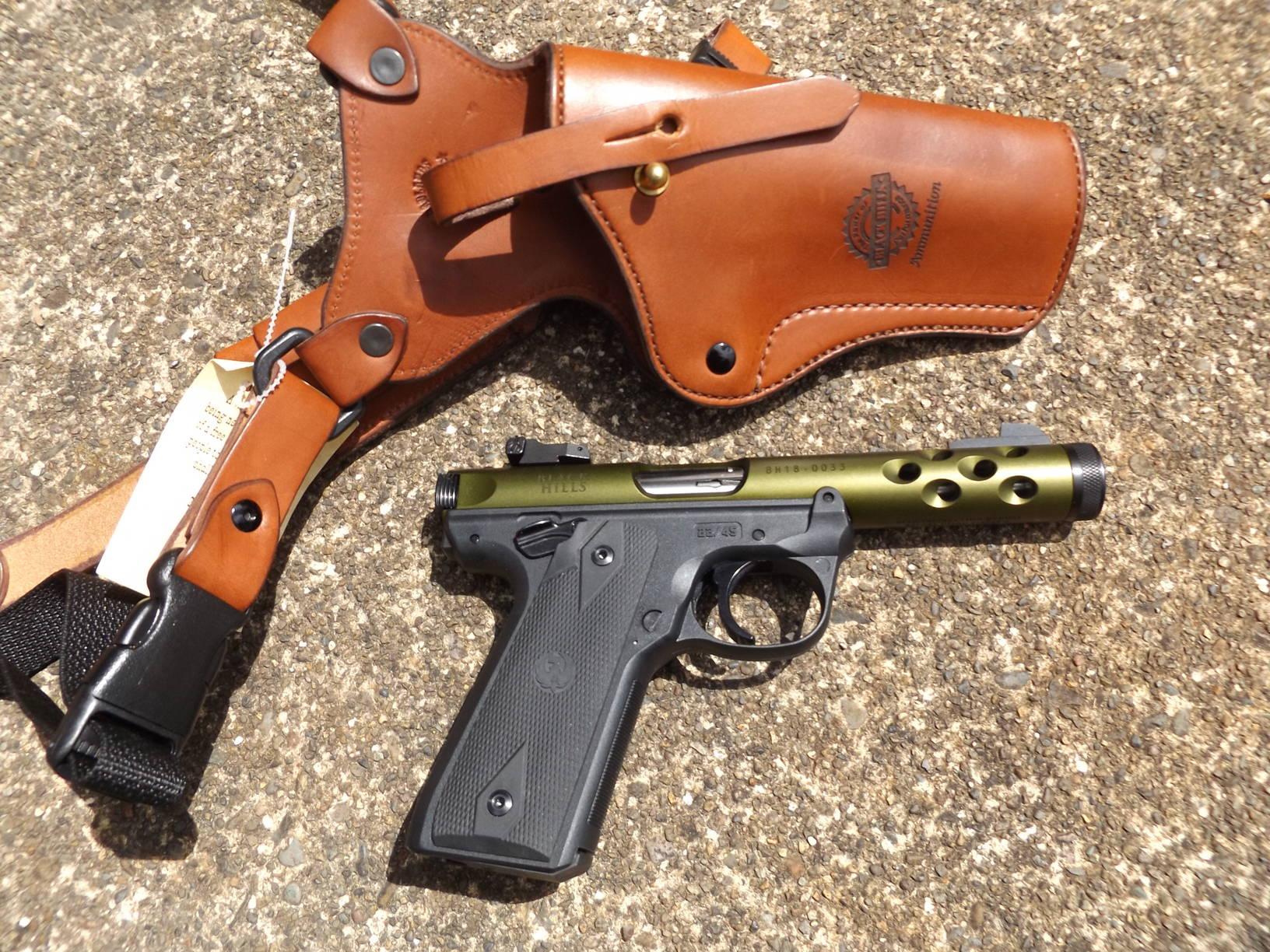 Ruger/Black Hills Ammunition, Mark IV 22/45 Lite Edition, by Pat