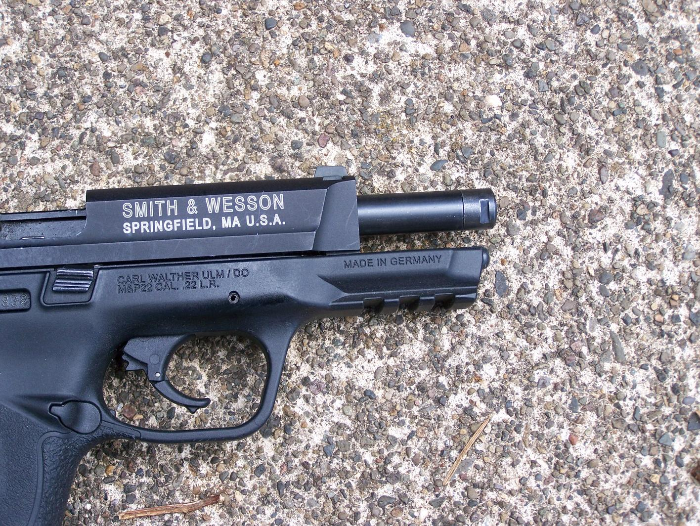 S&W M&P  22 LR Compact – By Pat Cascio - SurvivalBlog com