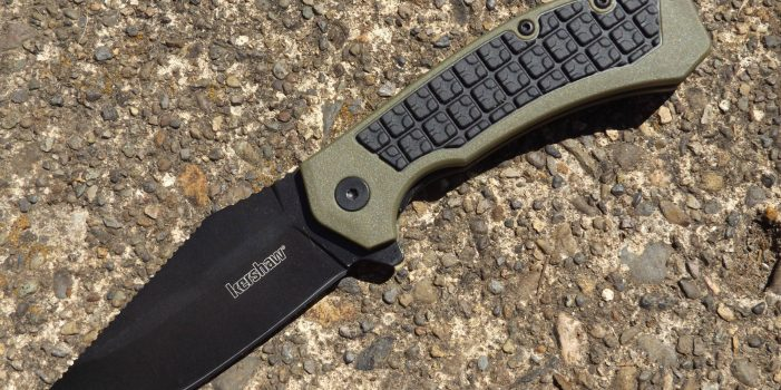Kershaw's Faultline Folder, by Pat Cascio
