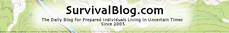 Letter Re: Supporting SurvivalBlog