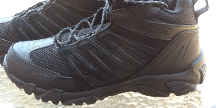 Blackhawk Terrain Mid-Training Shoes, by Pat Cascio