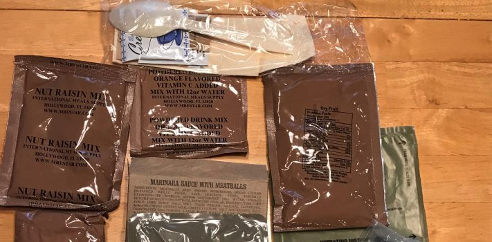 Letter: A Recent Test of Stored 2008-Vintage MREs