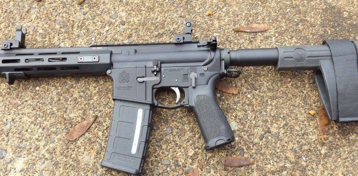 Springfield Armory SAINT AR  Pistol, by Pat Cascio