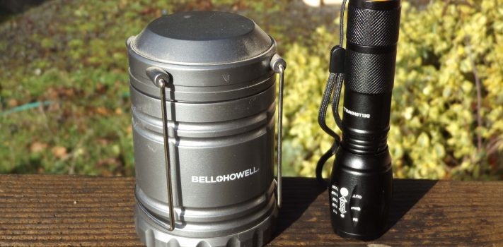 Bell & Howell TacLight Lantern/Flashlight Combo, by Pat Cascio