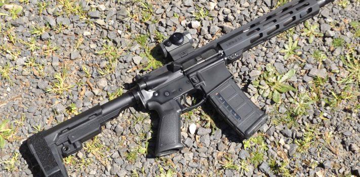Ruger AR-556 Pistol, by Pat Cascio