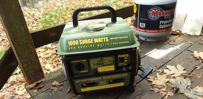 Sportsman 1,000-Watt Portable Generator, by Pat Cascio