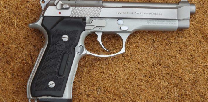 Beretta 92FS Stainless, by Pat Cascio
