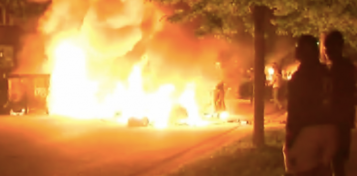 What if a Riot Comes Down My Street? , by T.S. in Ohio
