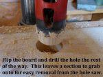 Hole Saw Plug