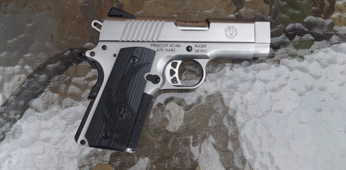 Ruger Officer-Style SR1911, by Pat Cascio