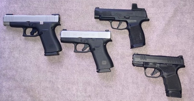 Top Concealed-Carry Handguns, by Deputy Dave