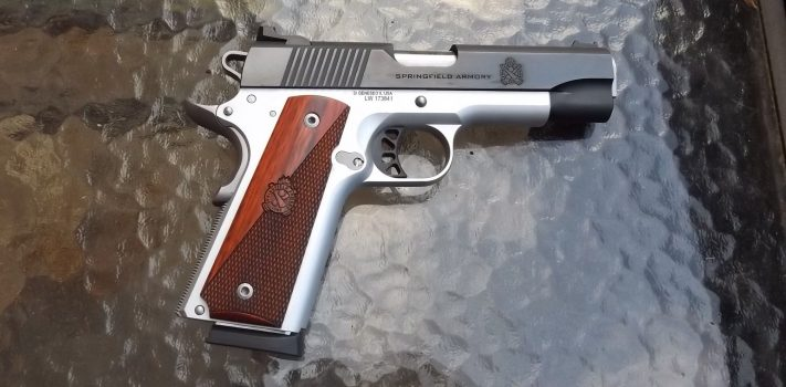 Springfield Armory Ronin Compact M1911, by Pat Cascio
