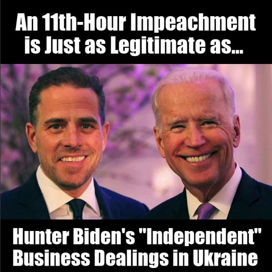 11th-Hour Impeachment Meme
