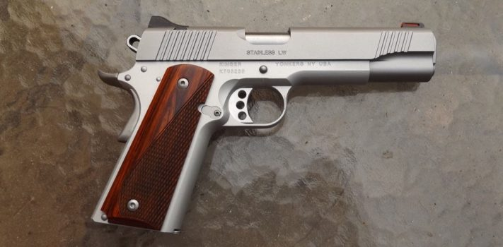 Kimber America Stainless LW 1911, by Pat Cascio