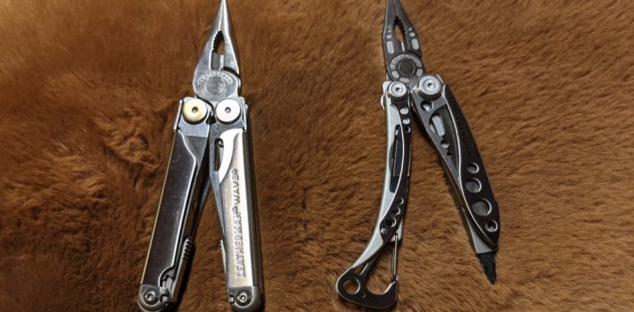 Leatherman Wave and Skeletool, by The Novice