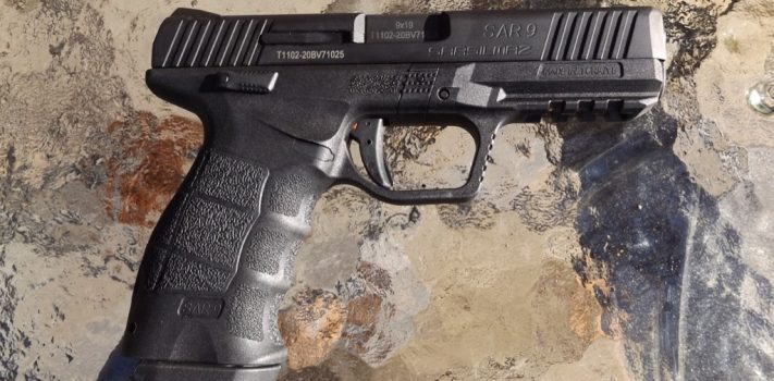 SAR 9 Pistol, by Pat Cascio