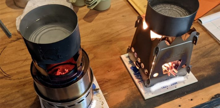 Gear Review: Two Twig Stoves, by The Novice