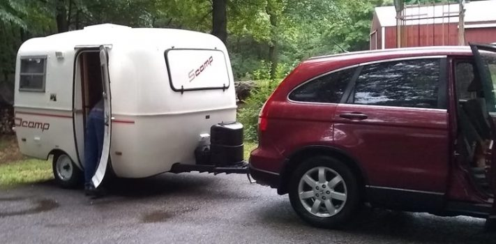 Our First Camper, by The Novice