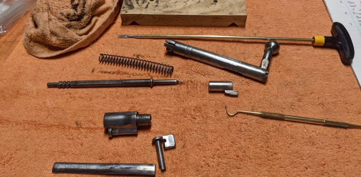 Cleaning Mauser Rifle Bolts, by The Novice